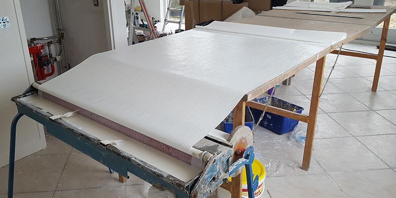 Vliesbehang glasweefsel of gewoon behang wat is het for Renovlies behang aanbrengen